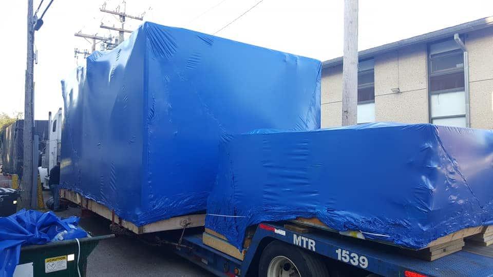 transport shrink wrap